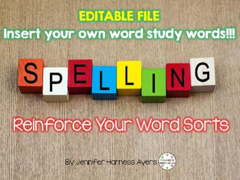 Editable Spelling File