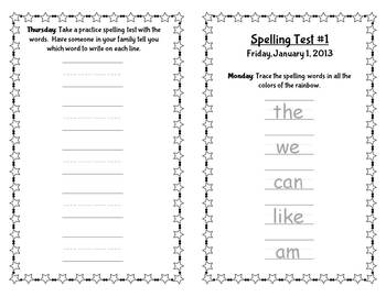 Editable Spelling Practice Book!