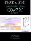 """Spine Covers-1"""" & 2"""" Binders"""