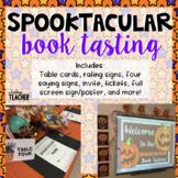 Editable Spooktacular Book Tasting