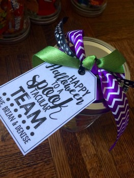 Editable Spooktacular Gift Tags