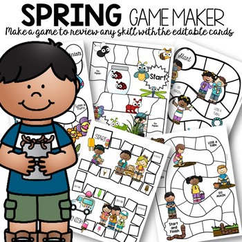 Create Your Own Spring Games