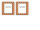 Editable Square Labels  **Fit Target Dollar Spot Label Sleeves**