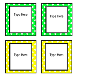 editable square labels fit target dollar spot label sleeves