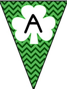 Editable St. Patrick's Day Banners