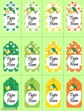 Editable St. Patrick's Day Gift Tags (Small Size)