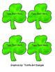 Editable St. Patrick's Day Shamrocks