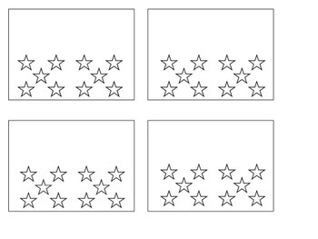 Editable Star Cards
