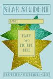 Editable Star Student Poster