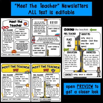 Editable Station Signs   Meet the Teacher   Superhero Theme Classroom Decor