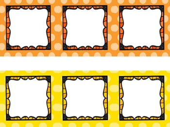 Polka Dot Editable Stations, Centers, or Daily 5 Management Pack