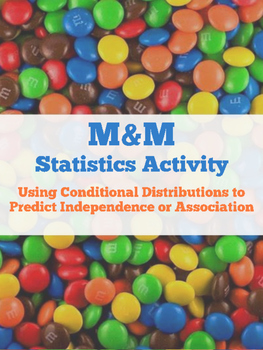 Editable Statistics M&M Activity for Conditional Distribut