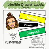 Editable Steralite Rainbow Labels