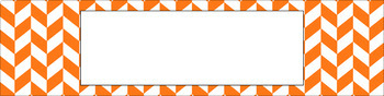 Editable Sterilite Drawer Labels - Essentials & White: Divided Chevron