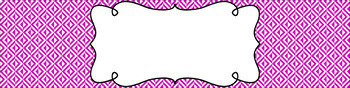 Editable Sterilite Drawer Labels - Essentials & White: Inverted Triangles
