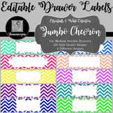 Editable Sterilite Drawer Labels - Essentials & White: Jum