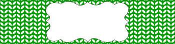Editable Sterilite Drawer Labels - Essentials & White: Leaves (Inverted)
