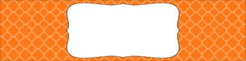 Editable Sterilite Drawer Labels - Basics: Quatrefoil