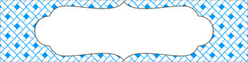 Editable Sterilite Drawer Labels - Essentials & White: Rectangles (Inverted)