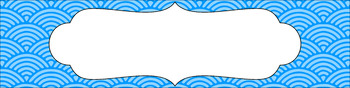 Editable Sterilite Drawer Labels - Essentials: Scalloped Lined