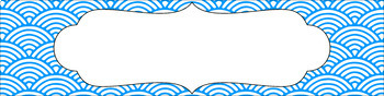 Editable Sterilite Drawer Labels - Basics: Scalloped Lined and White