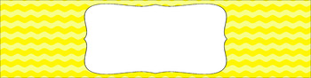 Editable Sterilite Drawer Labels - Basics: Waves