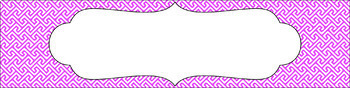 Editable Sterilite Drawer Labels - Essentials & White: Brick Path