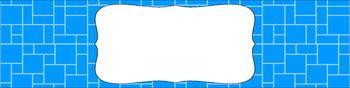 Editable Sterilite Drawer Labels - Essentials: Mosaic