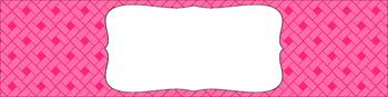 Editable Sterilite Drawer Labels - Essentials: Rectangles (Inverted)