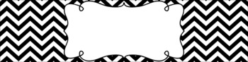 Editable Sterilite Drawer Labels - Essentials & White: Black and White
