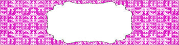 Editable Sterilite Drawer Labels - Basics: Greek Key and White