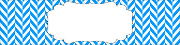 Editable Sterilite Drawer Labels - Essentials & White: Herringbone