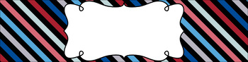 Editable Sterilite Drawer Labels - Multi-Color: Nautical