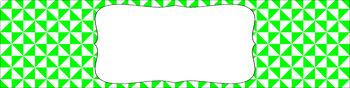 Editable Sterilite Drawer Labels - Basics: Triangles and White