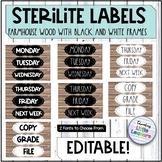 Farmhouse Sterilite Drawer Labels: Dunn Inspired