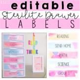 Editable Sterilite Drawer Labels (8.5 x 11)