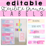 Editable Sterilite Drawer Labels (8.5 x 11)