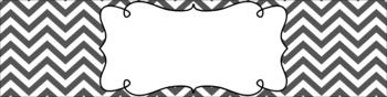 Editable Medium Sterilite Drawer Labels - Grayscale