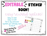 Editable Sticker Book - Easy Reward System & Totally Custo