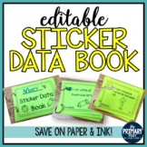 Kindergarten Sticker Data Book