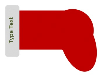 Editable Stocking Labels for your Classroom and Home
