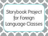 Editable Storybook Project with Template and Rubric for Fo