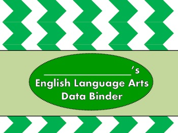 {Editable} Student ELA Data Binder