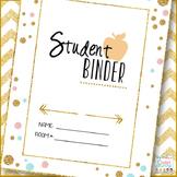 Editable Student Binder