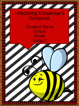 Editable Student Binder Covers: Outdoor/Camping/Woodland Theme