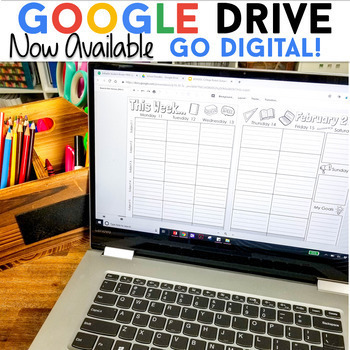Editable Student Binder FREE Updates   Student Planner   Google Drive Compatible
