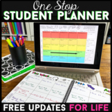 Editable Student Binder | Print & Digital Student Planner for Google Drive
