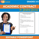 Free Editable Student Contract for Academic Improvement