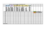Editable Student Data Tracker for Reading Standards