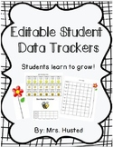 Editable Student Data Trackers